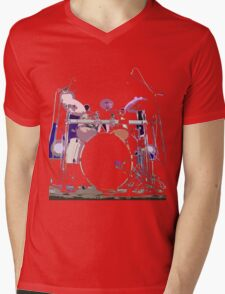 drum Mens V-Neck T-Shirt