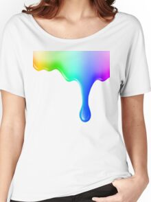 Liquid colored Women's Relaxed Fit T-Shirt
