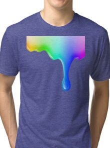 Liquid colored Tri-blend T-Shirt