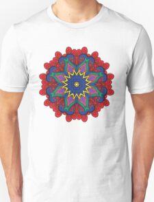 Abstract flower vector figure T-Shirt