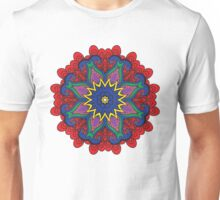 Abstract flower vector figure Unisex T-Shirt