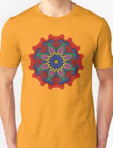 Abstract flower vector figure T-Shirt