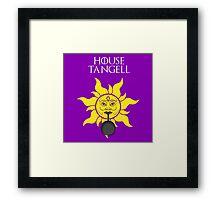 """House Tangell"" - Disney Meets Game of Thrones Framed Print"