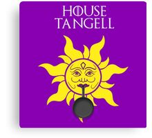 """House Tangell"" - Disney Meets Game of Thrones Canvas Print"