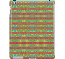 Red and Green Circles iPad Case/Skin
