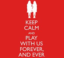 Keep Calm The Shining Play With Us Unisex T-Shirt