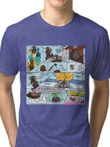 Fus-Kan-Doo Tri-blend T-Shirt