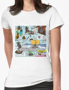 Fus-Kan-Doo Womens Fitted T-Shirt