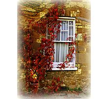 Country Window Photographic Print