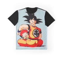 Dragon Ball Z Goku + Gohan | Retouch Graphic T-Shirt