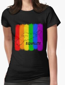 NS EQUALITY Womens Fitted T-Shirt