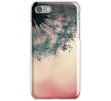 droplets of dusty blue iPhone Case/Skin
