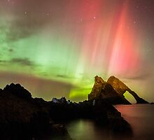 Northern Lights with Bow Fiddle by Alexander Dutoy