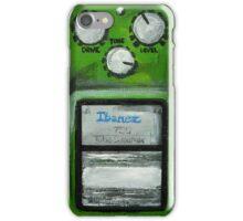 Ibanez Tube Screamer Acrylics On Canvas Board iPhone Case/Skin
