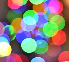 Christmas tree bokeh by Ryan McEwan