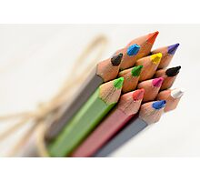 Colored Pencils Photographic Print