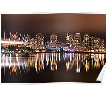 Vancouver Downtown Poster
