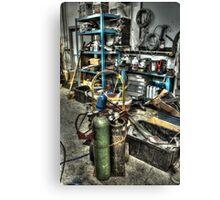 Garage Mentality Canvas Print