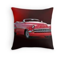 1954 Chevrolet Custom Convertible Throw Pillow