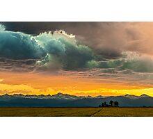 Powers of Sunset Photographic Print