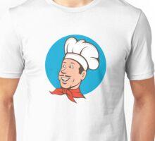 Chef Cook Baker Smiling Cartoon Unisex T-Shirt