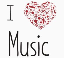 I Love Music by SamanthaMirosch