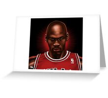 "MICHAEL JORDAN ""HIS ROYAL AIRNESS"" Greeting Card"