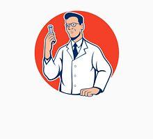 Scientist Lab Researcher Chemist Cartoon Unisex T-Shirt
