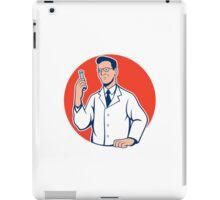 Scientist Lab Researcher Chemist Cartoon iPad Case/Skin