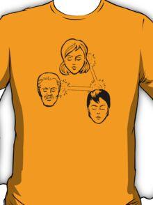 Three-Way Telephathic Interaction T-Shirt