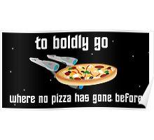 USS Pizzaprise Poster