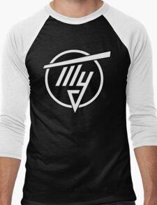 Tupolev Aircraft Logo (Black) Men's Baseball ¾ T-Shirt