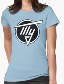 Tupolev Aircraft Logo (Black) Womens Fitted T-Shirt