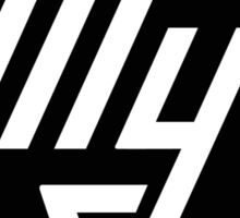 Tupolev Aircraft Logo (Black) Sticker