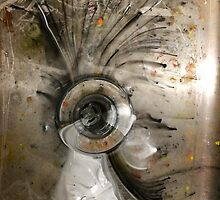 Painted Sink 001 by graetkel
