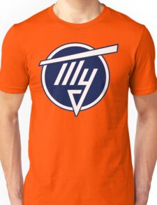 Tupolev Aircraft Logo (Blue) Unisex T-Shirt