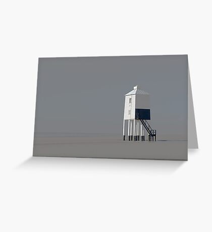 The Wooden Lighthouse Greeting Card