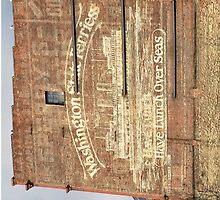 Washington State Ferries Brick Wall by graetkel