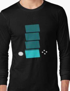 SHIRT #71 / 100 - GLOWING SCREEN Long Sleeve T-Shirt