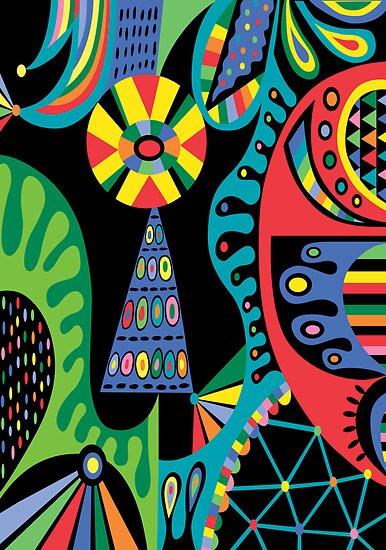 Mojo black by Andi Bird