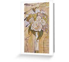 Wedding Bouquet Card Greeting Card
