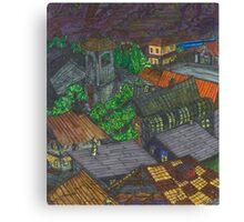 Pirate Cove (panel 5) Canvas Print