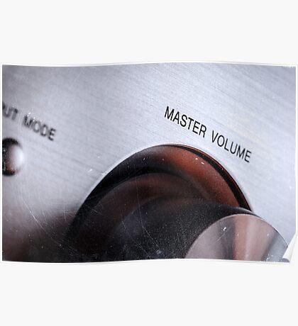 Master Volume Poster