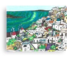 Greek Islands Canvas Print