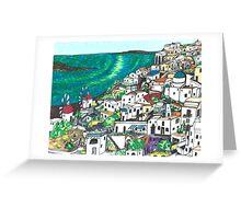 Greek Islands Greeting Card