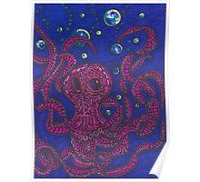 Alpha Octopus Poster