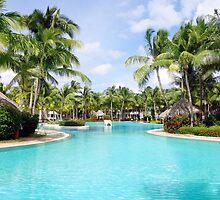 Resort Swimming Pool by Valentino Visentini