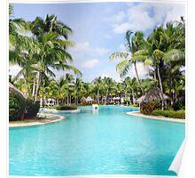 Resort Swimming Pool Poster