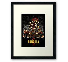 BOWZILLA Framed Print