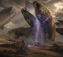 Dune Sandworms by dnadaviddna